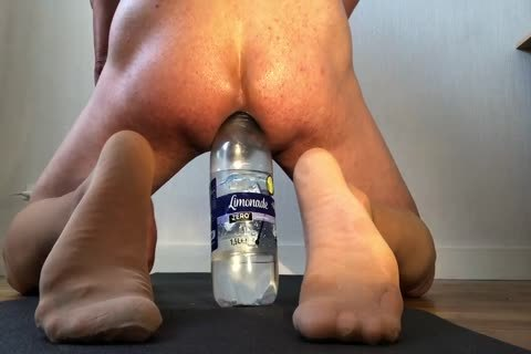Intense pleasure With gigantic Bottles!