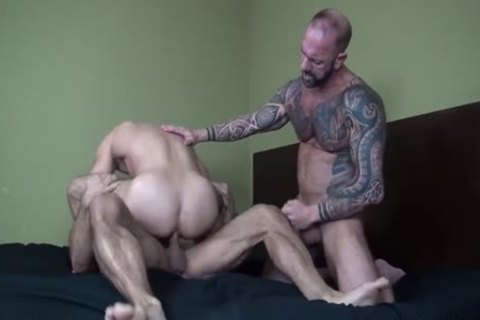 large cock Daddies Feeding And Breeding