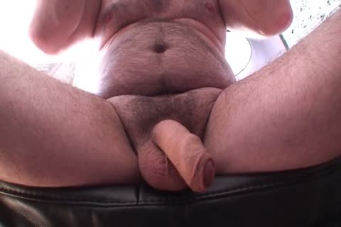 Playing Jerking And cum Uncut Foreskin hairy ambisexual dad's