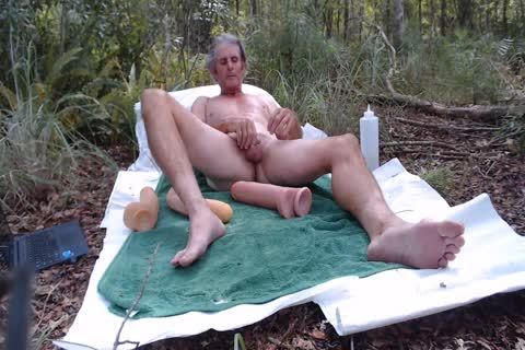 Playing In The Pasture With dildos