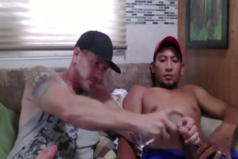 Straight Latino Construction Worker gets First handjob From A guy (Martin two)