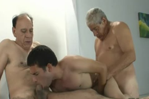 large dicks three-some