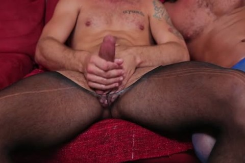 Wesley Woods pounded In pantyhose