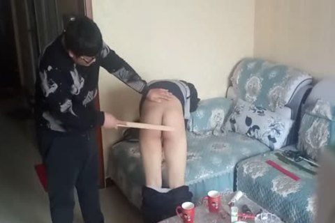 indecent twink Came During His spanking