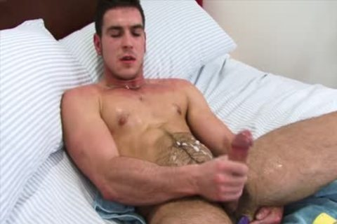 Paddy Jerks Off With A vibrator