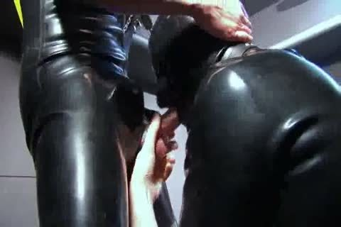 sucking And hammering In Rubber