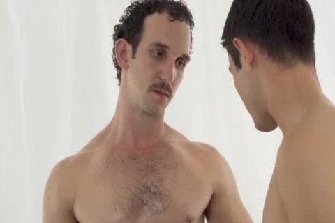 twink Barefucked By man With dildo