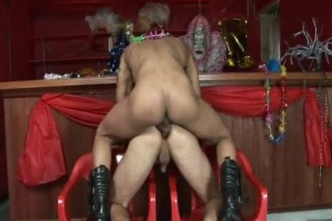 Two homosexual dudes End Up Jerking After The Party