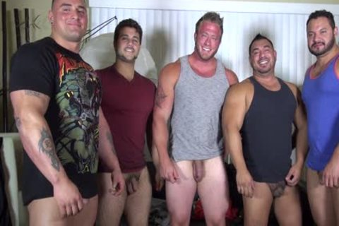 bare Party @ LATINO Muscle Bear house - dilettante fun W/ Aaron Bruiser