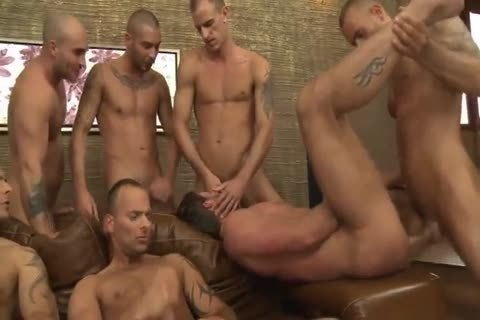 Toby Dutch acquires hammered In A Seven-dude raw gang group-sex