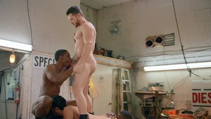 Tom Of Finland: Service Station: raw - Ricky Roman & River Wilson American Nail