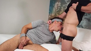 Balls To The Ball - Michael DelRay with Michael Boston anal Hump