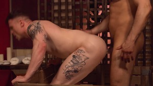 DrillMyHole.com: Tattooed Jean Franko gets ass licked video