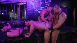 Tom Of Finland: Leather Bar Initiation - Dirk Caber with Kurtis Wolfe American nail