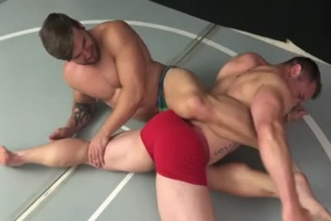 Muscle Hunks Wrestling Some more
