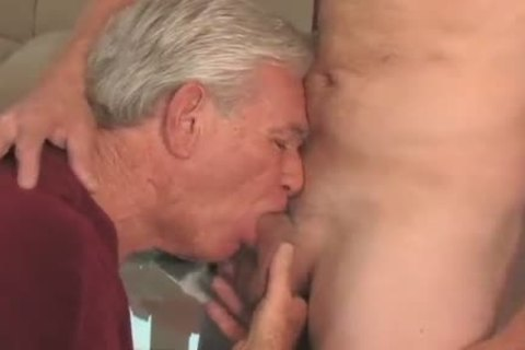 fascinating older man sucking & Getting poked By Younger fellow