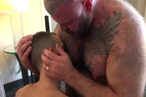 Daddy With subrigid Suckable nipples nail A young lad