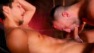 DrillMyHole: Colby Tucker gets ass licked outdoors