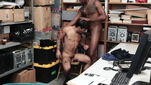 YoungPerps.com - Young officer Ty Mitchell rushes loud sex