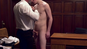 MissionaryBoys.com - Wet Elder Packer licks Bishop Angus penis