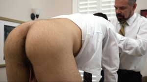 MissionaryBoys: Brother Calhoun pounded by penis stepbrother