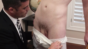 MissionaryBoys: Skinny Elder Campbell moaning in briefs