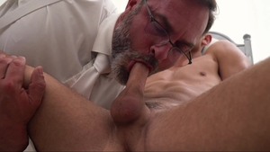 Missionary Boys - Young and wet Elder Land in briefs threeway