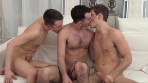 Missionary Boys - Young Elder Dudley orgy outside