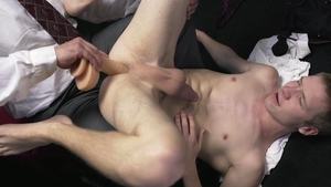 Missionary Boys - Braces Elder Stewart first time ass pounded