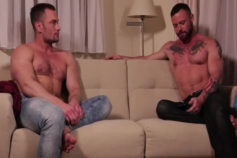 Sergeant Miles Flip-hammers With Stas Landon bare