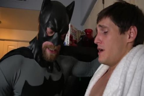 Batman receives Villain To Talk With oral stimulation And Tickling