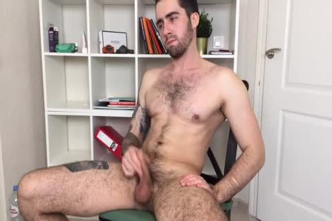 Bushy And pumped up Russian Males Alex Discharges A thick Load