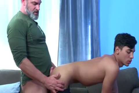 Latin Exchange Student receives banged Hard By Daddy