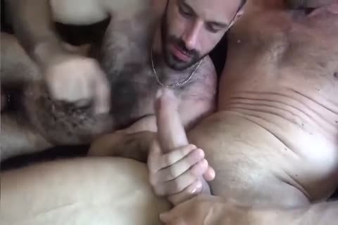 GUNNER DAVID GIFTED DADDY STUFFING hairy ass