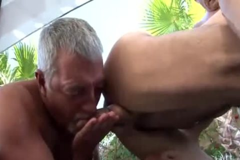 3some With Two older males Daddy 1