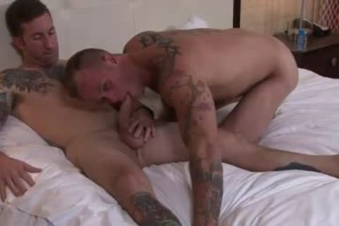 Two Straight men sucking And fucking