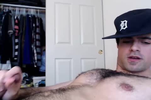 webcam cum: Straight curly Daddy Jerks And Cums