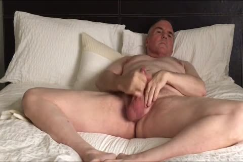 Stroking My tiny rod And Eating My Load