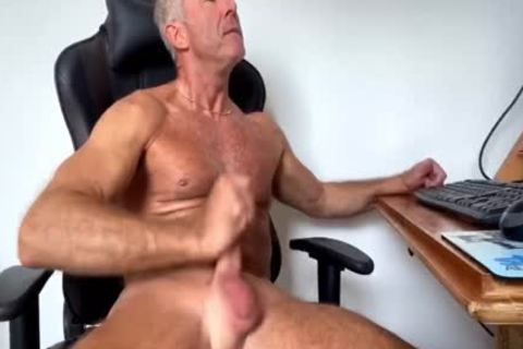 Dream Dilf Play With His large Uncut German ramrod (no cum)