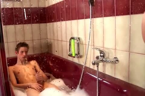 legal age teenagers Barebacking In The Shower