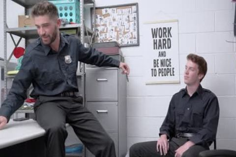 Bored Of Being Straight, Two Guards plow Each Other