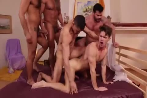 stripped Back group-sex - ?