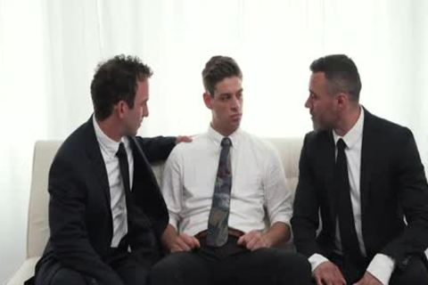 MormonBoyz - Two Hung Religious dudes poke A Missionary dude