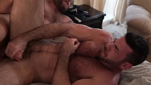 Icon Male - Billy Santoro plus Colby Jansen blowjob cum