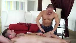 IconMale: Hairy jock Brian Bonds reality rimjob
