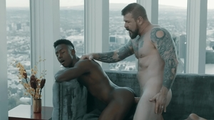 NoirMale.com - Liam Cyber & Rocco Steele anal fucked