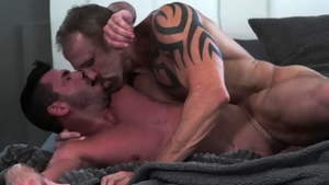 IconMale: Hard ramming with Dallas Steele & Billy Santoro