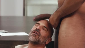 NoirMale - Hairy Adam Russo & Ray Diesel rimjob sex tape