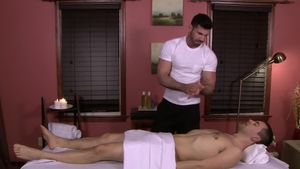 Icon Male: Athletic Billy Santoro receives plowing hard in HD