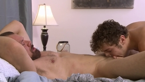 IconMale: Mature Calvin Banks receives hard pounding in HD